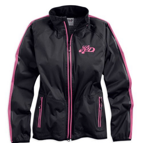 97423-14VW Harley-Davidson Women's Magnolia Waterproof Packable Jacket