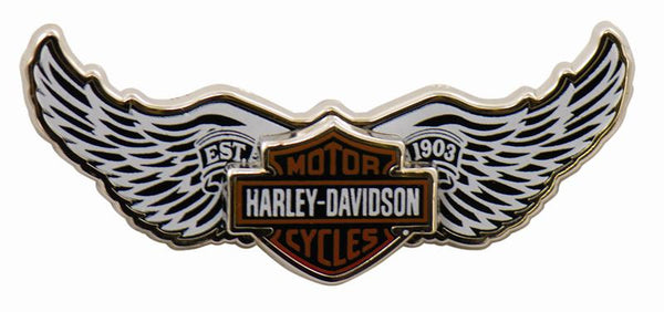 V75112 - B&S White Wings Pin