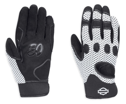 98252-18VW Harley-Davidson® Women's Reveaux Mesh Gloves w/ CoolCore Technology