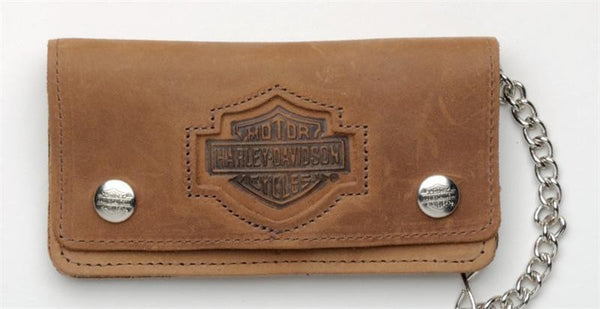 BW400H Distressed Wallet Brown