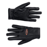 98305-12VW - H-D CLASSICA FULL- FINGER GLOVES