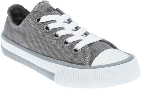 D61010 H-D Kid's Rascal Grey Low-Cut Grey Athletic Sneakers