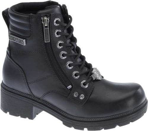"D83877  H-D® Women's Lifestyle Inman Mills 5.25"" Motorcycle Boots"