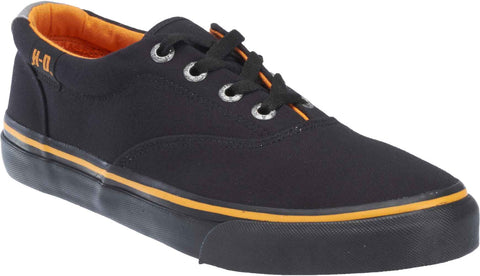 D93323 Harley-Davidson® Mens Lawthorn Black Canvas Casual Shoe