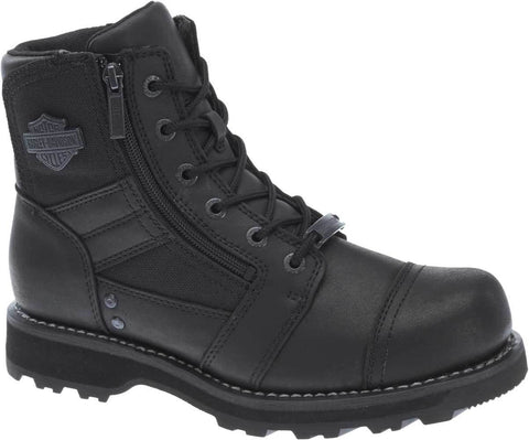 D93369 H-D Men's Bonham 6.25-Inch Blacked-Out Motorcycle Boots
