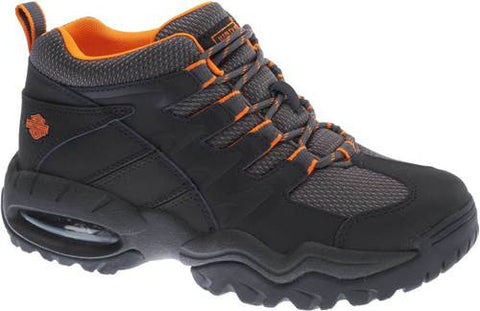 D93391 H-D Men's Jett Leather and Nylon Athletic Hiking Boots
