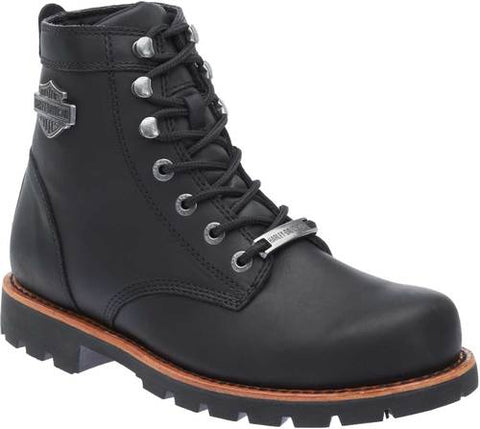 D93423 H-D Men's Vista Ridge Black Motorcycle Boots
