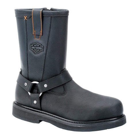 D95328 H-D Men's Bill Steel Toe Motorcycle Boots