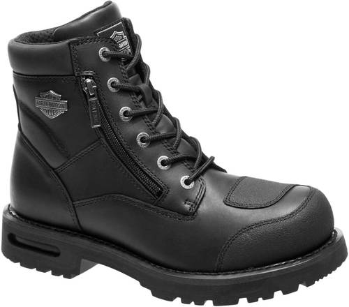 D96136  H-D® Men's Renshaw Performance Black Motorcycle Boots