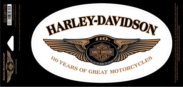 DC1281776 Harley-Davidson 110TH Anniversary Original Decal