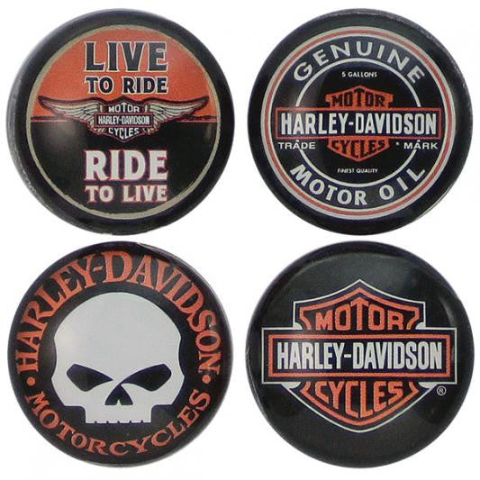 DM11966 Harley-Davidson Core Collection Magnets