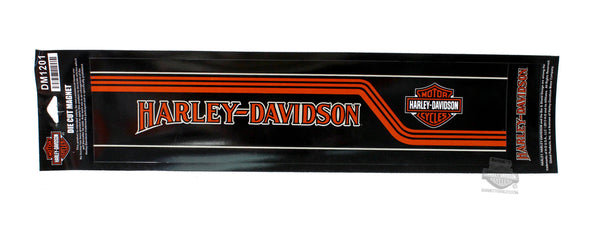 DM1201 Harley-Davidson® Retro Collage Die Cut Magnet
