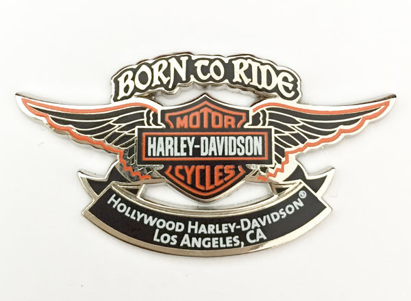 91524-33 HD Born To Ride Pin