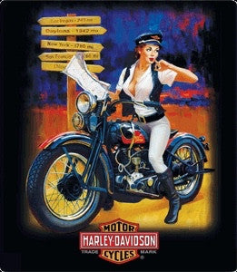 Harley-Davidson Cross Road Babe