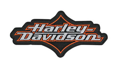 EM059633 Harley-Davidson Joy Ride Emblem, H-D Script, Medium Size Patch