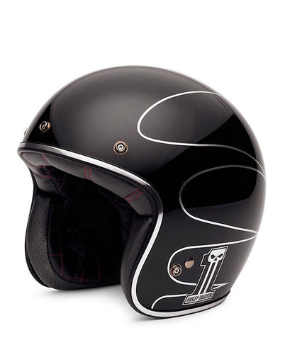 98307-14VM Elite Retro 3/4 Helmet