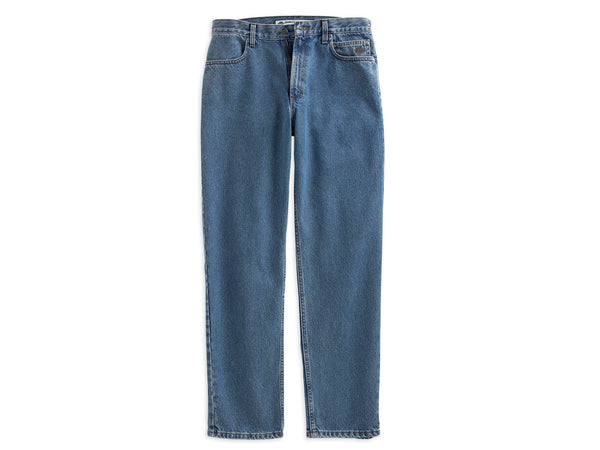 99025-07VM Harley-Davidson® Mens Original Heavy Weight Relaxed Fit Blue Jean Denim Pants