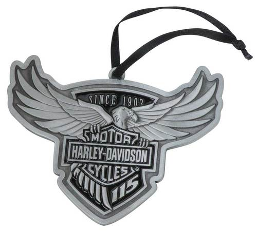 HDX-99102  H-D® 115th Anniversary Limited Edition Pewter Ornament