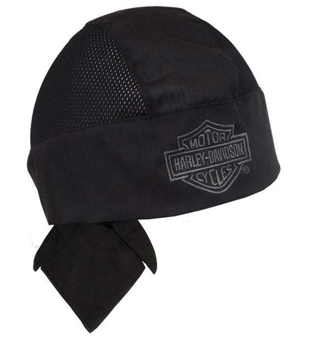 HW108030 H-D® Air Flow Bar & Shield Black Head Wrap