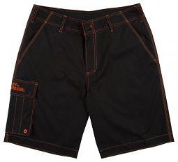 1786-2234-34 H-D® Mens Evolution II Cargo Land to Water Black Shorts by Tori Richard®