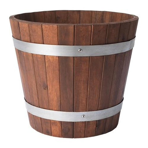 OGENMELON Plant pot, acacia, outdoor. 90416387