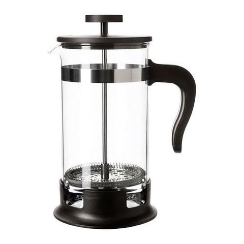 UPPHETTA Coffee/tea maker, glass, stainless steel. 80241388