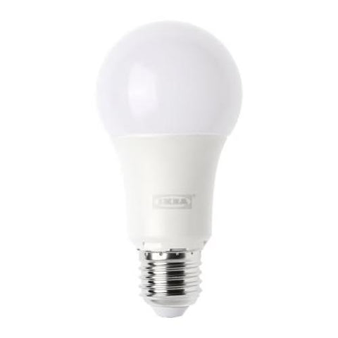 LEDARE LED bulb E27 1000 lumen, dimmable, globe opal white, 4000K. 60354833