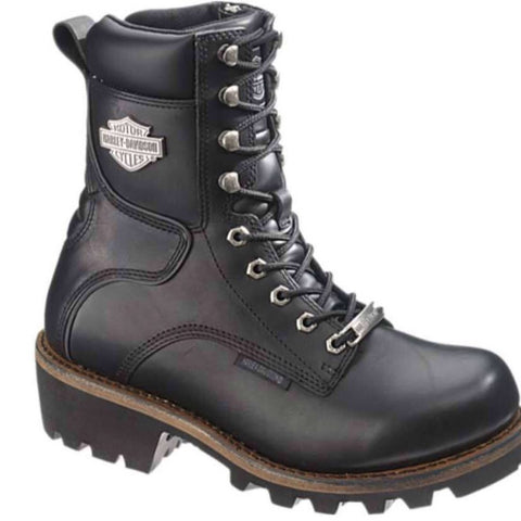 "D95188 H-D Men's 7.5"" Tyson Logger Motorcycle Riding Boots"