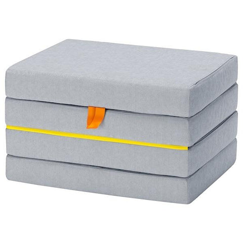 SLAKT Pouffe/mattress, foldable. 90362964