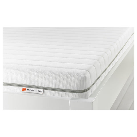 MALFORS Foam mattress, medium firm, white, 80x200 cm. 80272285