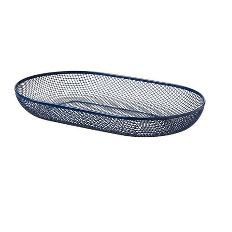 50408921 - NATVERK Serving basket, blue