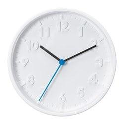 STOMMA Wall clock, white, 20 cm. 40374139