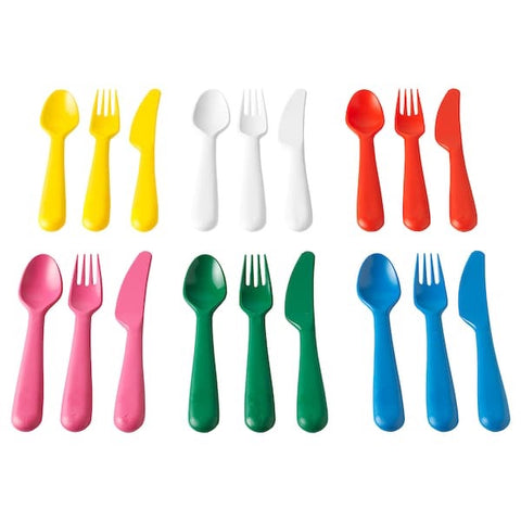 KALAS 18-piece cutlery set, multicolour. 60421333