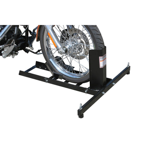 PITTSBURGH® Motorcycle 1800Lb. Capacity Motorcycle Stand/Wheel Chock - 97841