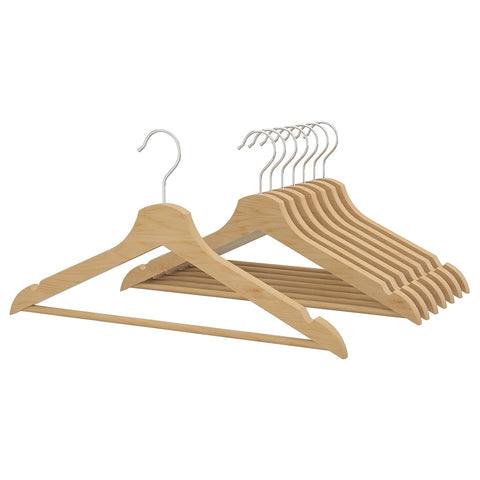 BUMERANG Hanger, natural /8 pieces. 30238538