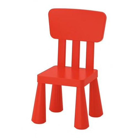 MAMMUT Children's chair, in/outdoor, red. 20365367