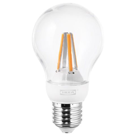 LEDARE LED bulb E27 600 lumen, dimmable warm dimming, globe clear. 00388765