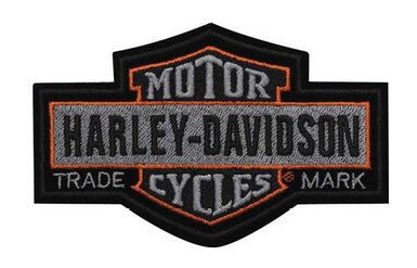 EM313752 - Harley-Davidson® Nostalgic B&S Small Patch