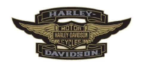 199206 H-D® 2 Tone Wings Pin