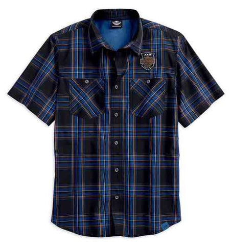 99018-18VM * H-D® Men's 115th Anniversary Limited Edition Plaid Shirt