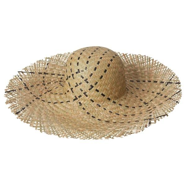 DYNKOBB Straw hat, seagrass - 90443362