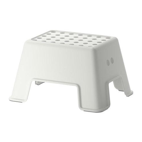 BOLMEN - Step stool, white. 40265164
