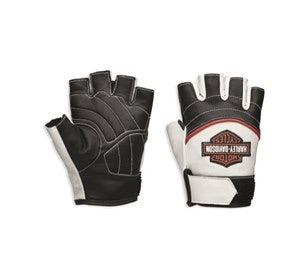 98167-18VW Harley-Davidson® Womens Whistler Bar & Shield Fingerless Gloves