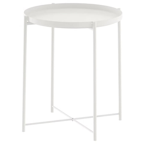 GLADOM Tray table, white, 45x53 cm. 50337820