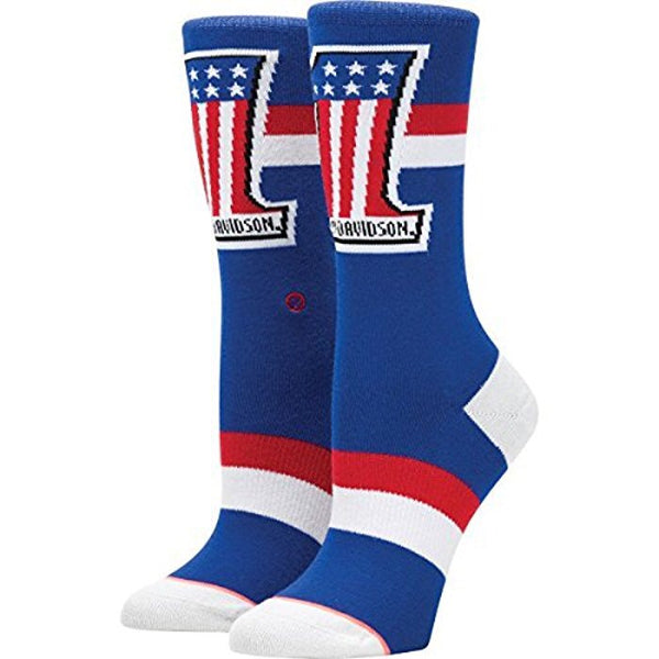 W525C17HAR-BLU Stance Women's Harley Washed Freedom Socks