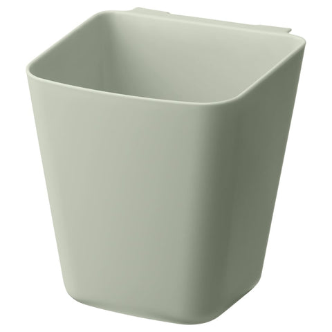 SUNNERSTA Container, pale green, 12x11 cm. 00440966