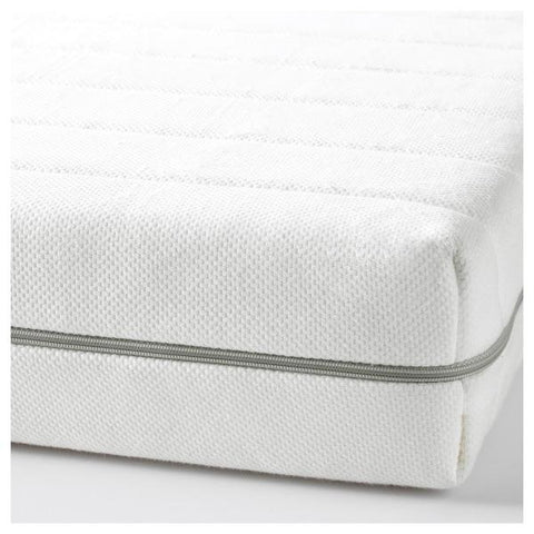 "MALFORS Foam mattress, firm, white, 90x200 cm (35 3/8x78 3/4 "") 00272312"