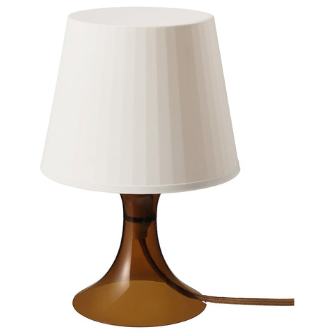 LAMPAN Table lamp, brown, 29 cm. 50394641