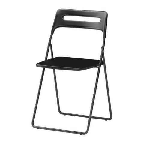 30162208 - NISSE Folding chair, black.