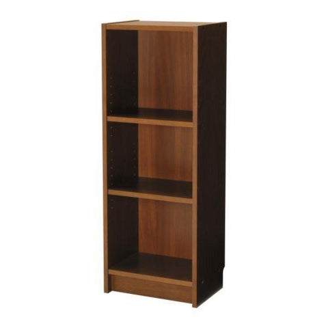 BILLY Bookcase, medium brown. 50169831